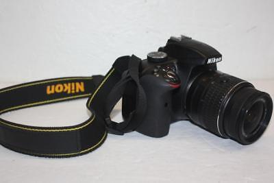 Nikon D3300 Grey DSLR Camera 18-55mm Lens AF-S DX NIKKOR VR II Kit 24.2 MP for sale  Shipping to Canada