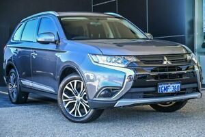 2018 Mitsubishi Outlander ZL MY18.5 ES 2WD Grey 6 Speed Constant Variable Wagon Wangara Wanneroo Area Preview