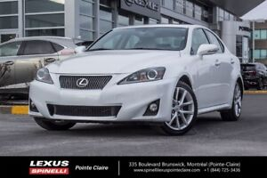 2012 Lexus IS 250 GR PREMIUM, AWD, CUIR, TOIT OUVRANT VERY CLEAN