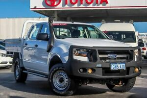 2018 Ford Ranger PX MkII 2018.00MY XL Cool White 6 Speed Sports Automatic Cab Chassis
