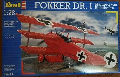 Revell Model Kit Fokker DR.I Manfred Von Richtofen 04744 1:28 Skill Level 3
