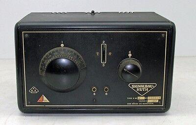Huith E82W Audion   Röhrenradio  1929