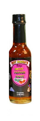 Mama Sweet Sauce (***ON SALE NOW!!*** HOT MAMAS® DIRECT IMPORT HOT SAUCE - 5 OZ. SWEET)