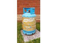 13kg EMPTY bottle of butane gas.