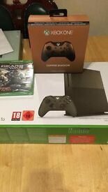 Xbox one S 1tb battlefield green special edition bundle