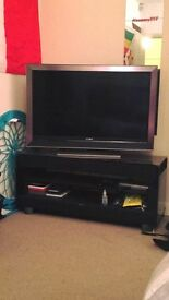 Sony 42in HD and speaker stand