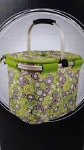 Green Foldable Insulated Cooler Bag Outdoor Picnic Beach Basket Clayfield Brisbane North East Preview