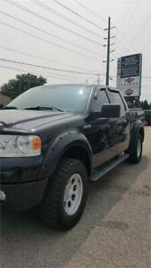2006 Ford F-150 FX4!CREWCAB!CUSTOM!LEATHER!4X4!CERTIFIED!