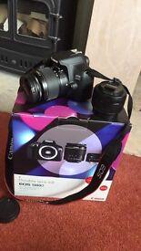 BRAND NEW Canon EOS 1300D double lens kit bundle