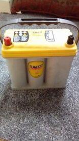 Optima YTS 4.2 Yellow Top AGM Battery - 12V 460CCA - Highest Power