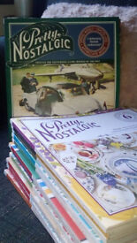 """""""PRETTY NOSTALGIC"""" GORGEOUS HARDBACK MAGAZINES - USEFUL FOR CRAFTING AND SCRAPBOOK PROJECTS"""