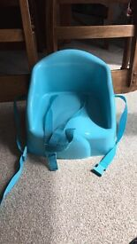Toddler seat for dining/kitchen table