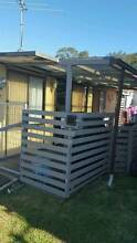 Onsite van with kitchen, bathroom,outdoor area and storage shed. Manning Point Greater Taree Area Preview