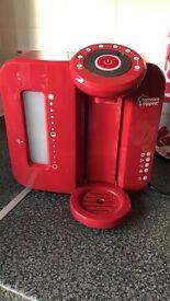 Tommie Tippie Pefect Prep Machine in Red