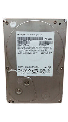 "Hitachi DeskStar 7K1000.B HDT721064SLA360 640GB 3.5"" SATA II Hard Drive for sale  Shipping to Nigeria"