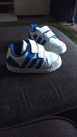 Adidas trainers (toddler size 7)