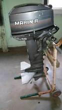 30 hp Mariner 2 stroke long shaft outboard motor Scarborough Redcliffe Area Preview