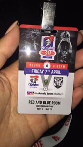Newcastle Knights RED AND BLUE ROOM Pass Waratah Newcastle Area Preview
