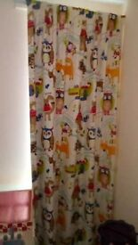 52x86 children's lined black out curtain