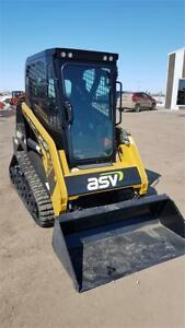 ASV RT30 Skid Steer Demo Unit