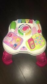VTEC Pink Activity Table Excellent Condition