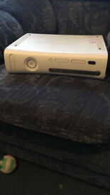 X Box 360 inc all cables and a controller