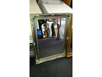 Ex-display gold & silver french style medium sized mirror