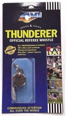 NEW ACME Thunderer Metal Whistle 60.5 Official Referee Small High Load
