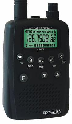 Moonraker AR 109 Airband Scanner Receiver VHF AM FM band handheld radio AR109