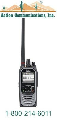 New Icom Ic-f3400ds-11 Vhf 136-174 Mhz 5 Watt 1024 Channel Two Way Radio