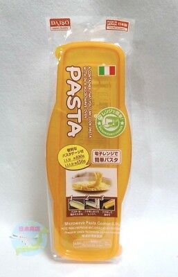 DAISO Easy Boil Microwave Pasta Cooker For One Person Spaghetti Easy Convenient
