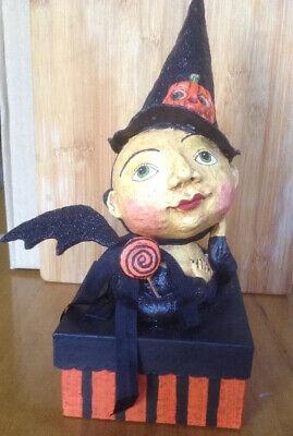 Bethany Lowe Debra Schoch Hop Hop Jingle Boo Sweetie Witch Box--retired