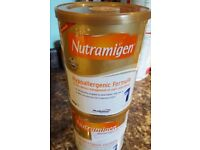 Baby milk formula Nutramigen for allergy/intolerance