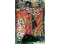 Taffman welsh superhero medium fancy dress costumes