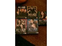 Alias DVD series 1-5 collections