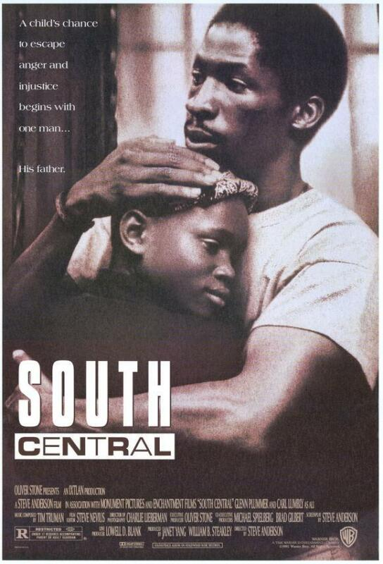 SOUTH CENTRAL Movie POSTER 27x40 Glenn Plummer Byron Minns Lexie Bigham Vincent
