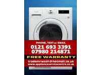 WHIRLPOOL AZA9791 TUMBLE DRYER WITH FREE WARRANTY