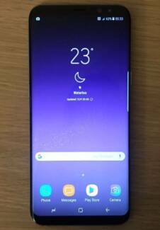 Samsung Galaxy S8 Plus 64G Unlocked Dual Sim card Coral Blue