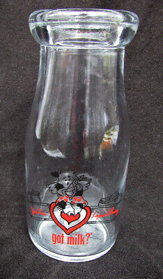 1/2 pint milk bottle You are Legend Dairy Got milk vintage nice