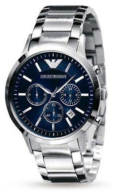 Emporio Armani Men's Classic Quartz Chronograph Stainless Steel Watch AR2448