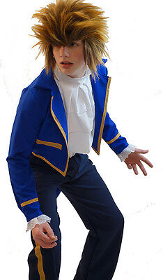 World Book Day-Stage-Panto-Beauty And The Beast BEAST COSTUME & WIG Men's Sizes (Men's World Book Day Kostüm)