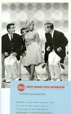 Connie Stevens Song And Dance Abc Wide World Of Entertainment 1964 Abc Tv Photo