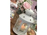 Lanterns x 8 - ideal for weddings