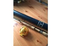Hardy Ultralite rod with aluminium reel