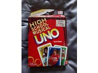 Uno High School Musical card game