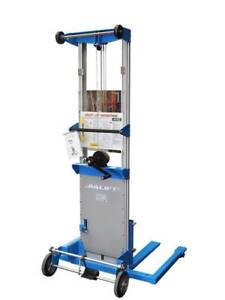 Aluminium Walkie stacker 3.6m/159kg winch Air Conditioner LIFTER Epping Whittlesea Area Preview