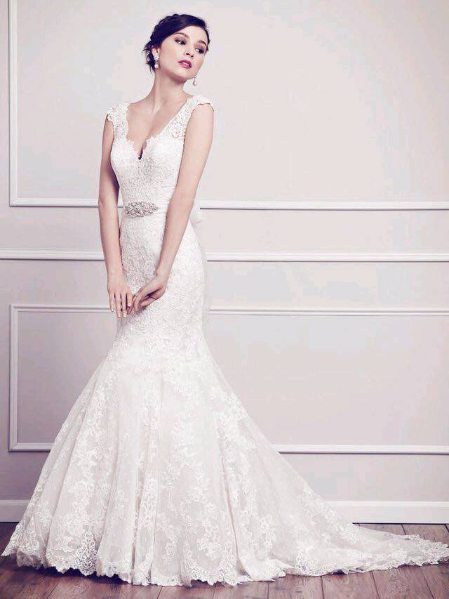 Stunning Lace Designer Private Label By G Wedding Dress