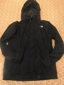 North Face Black Medium Resolve Boys Jacket, Excellent Condition. Cost £55, accept £22 ono