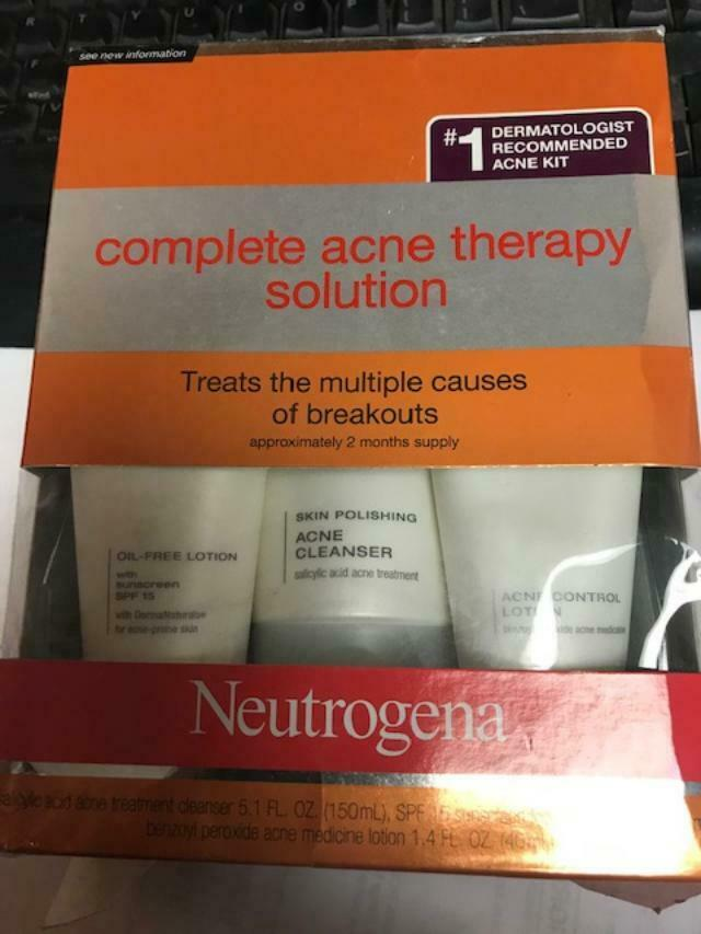 Neutrogena, Advanced Solutions Complete Acne Therapy System,