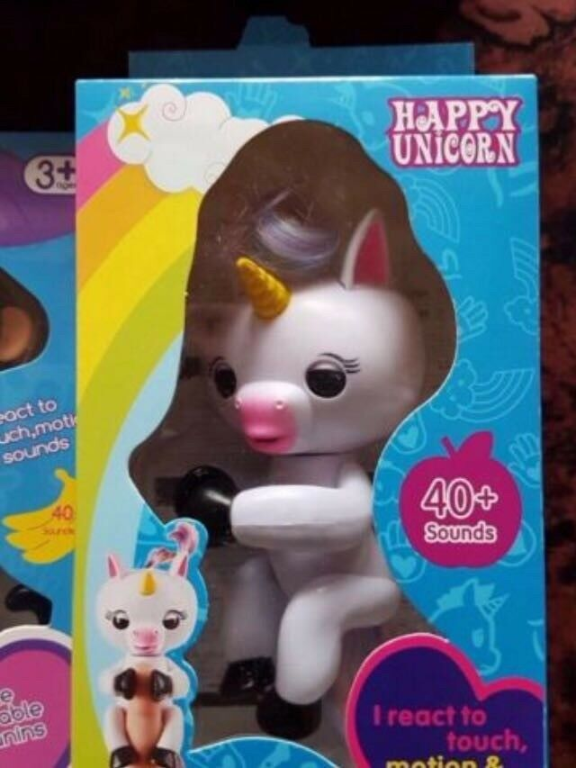 Unicorn Gigi Fingerling Brand New